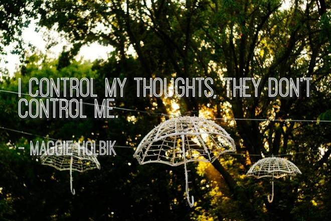 i control my thoughts