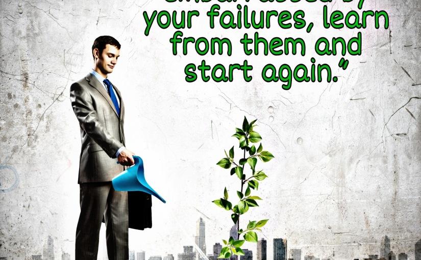 Just Start Again….